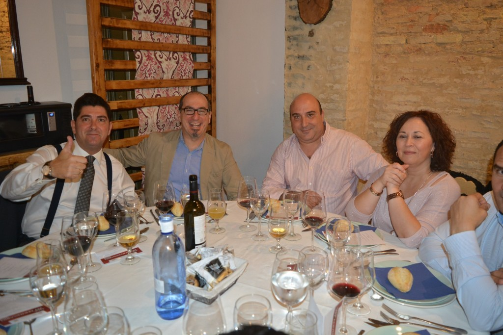 Juan Federico Gallardo, Javier Maestre, Manuela Sánchez y su marido