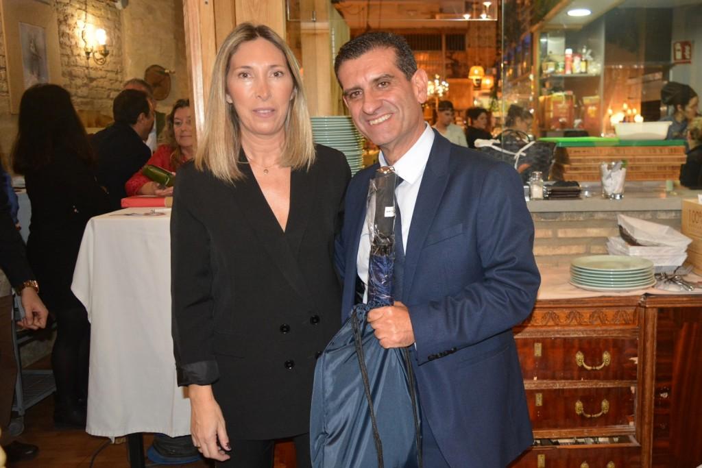 Mª del Valle Molina Temiño y D. Toscano