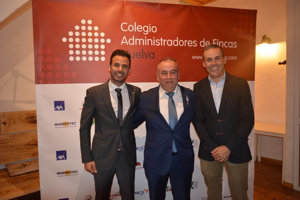 José A. Oria, Fco. J. Tenorio y Sergio López