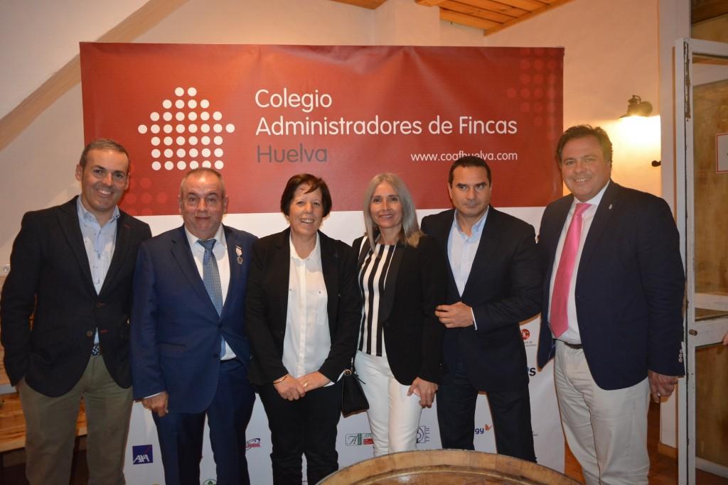 Sergio López, familia Tenorio, María del Carmen Domínguez, Ángel Vasallo y Juan Carlos Duarte