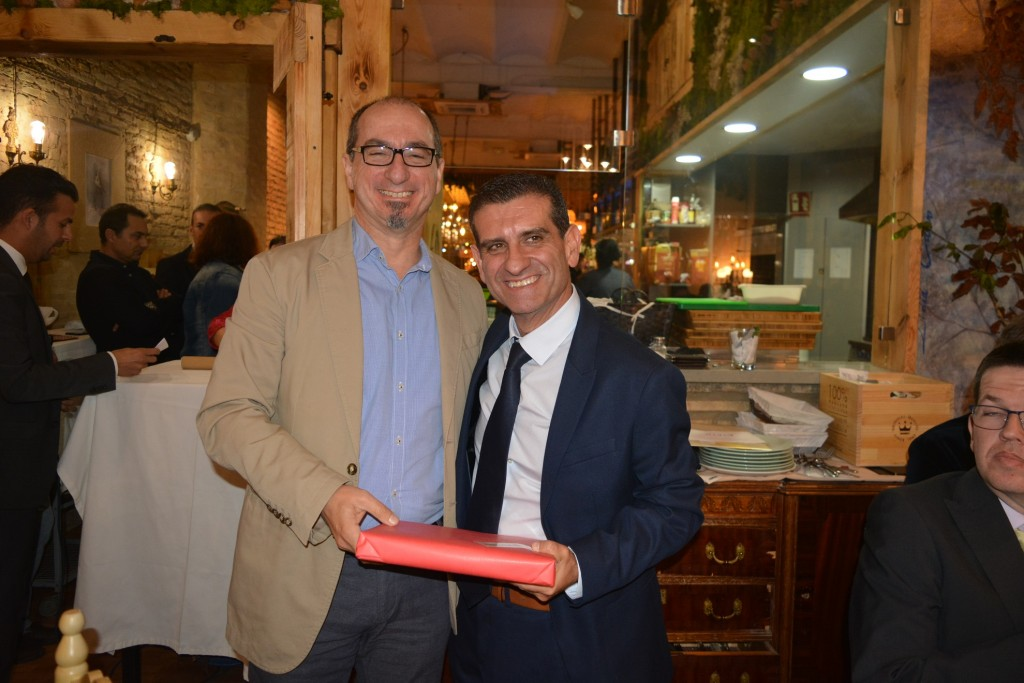Juan Federico Gallardo y David Toscano