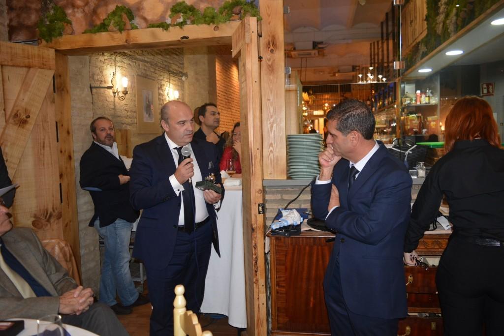 Antonio Lasso y David Toscano
