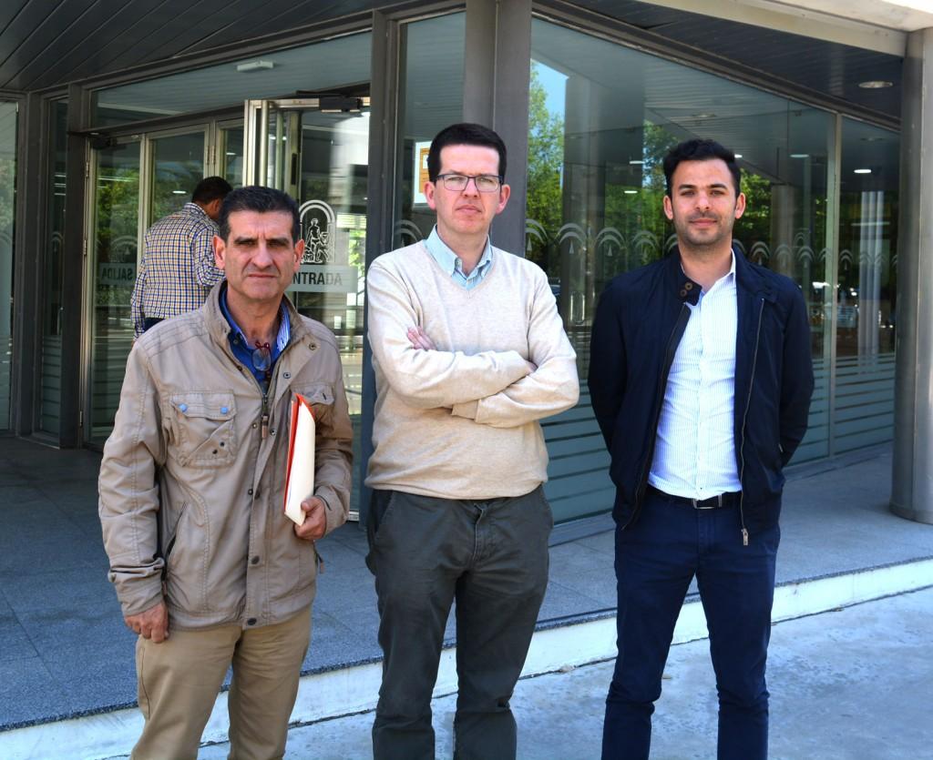 COAF David Toscano, Alejandro Chamorro, José Antonio Oria