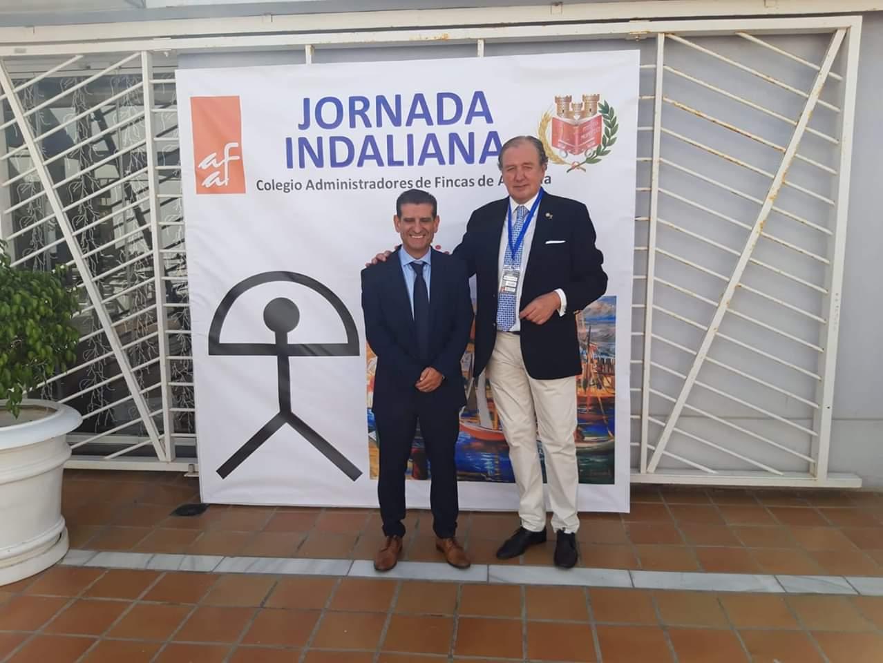 David Toscano y Gabriel Onoyarte en Jornadas Indalianas Almería