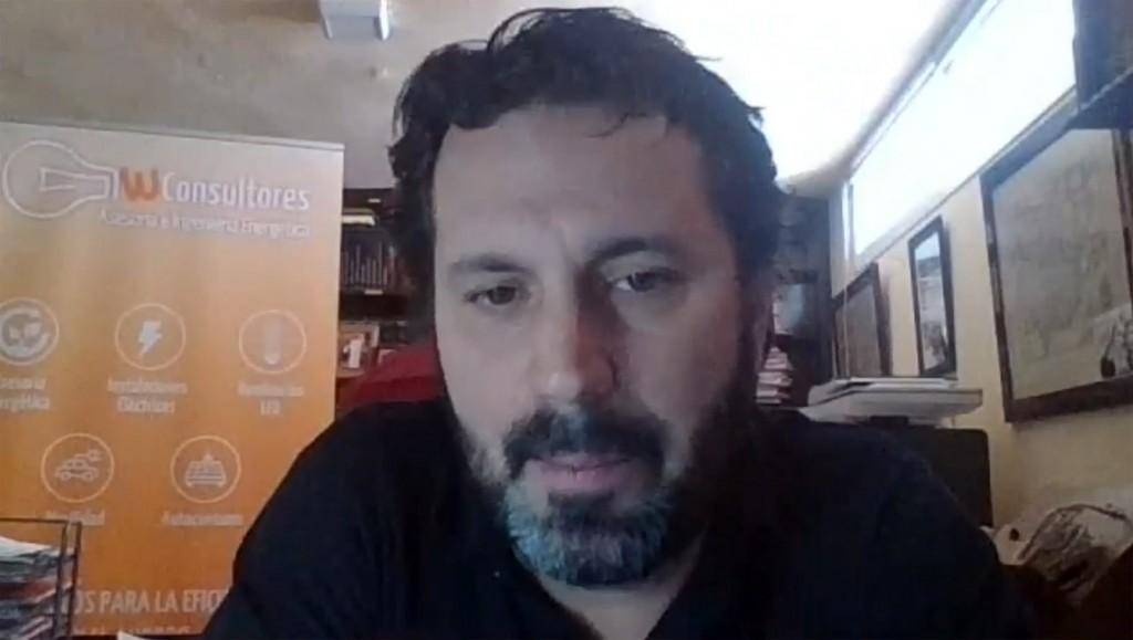 Impartió la sesión el director de WConsultores, Mateo Mancha.